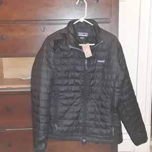Patagonia Mens Nano Puff Jacket- BLACK MEDIUM